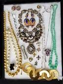 18 Pcs Vintage Costume Jewelry Lot