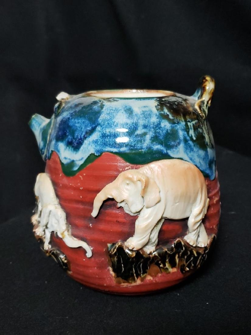 Sumida Gawa Pottery Lot, 3 Pcs - 2