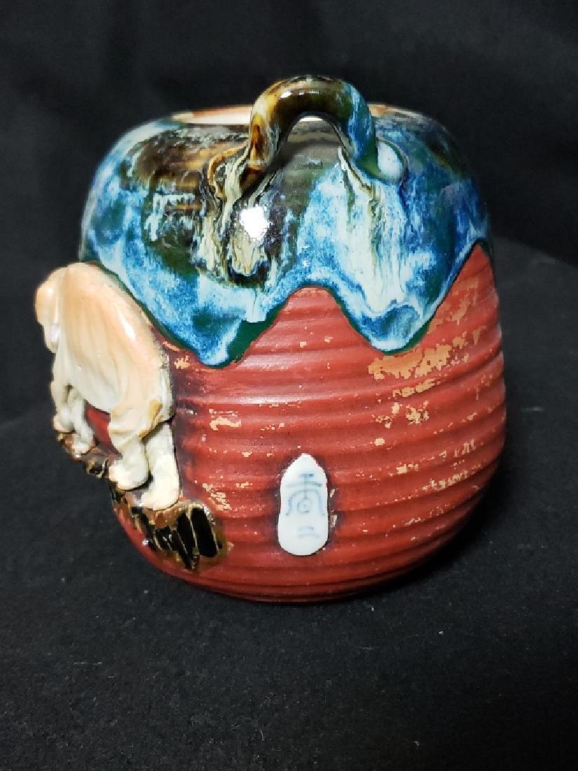 Sumida Gawa Pottery Lot, 3 Pcs - 3