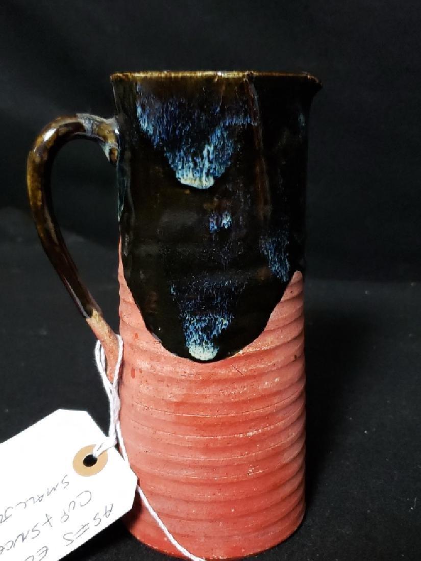 Sumida Gawa Pottery Lot, 3 Pcs - 7