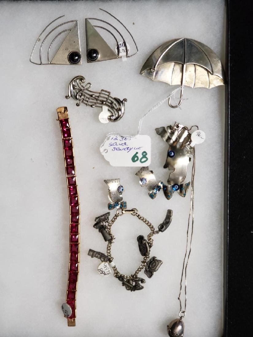 Sterling Silver Jewelry Lot (8 pcs)