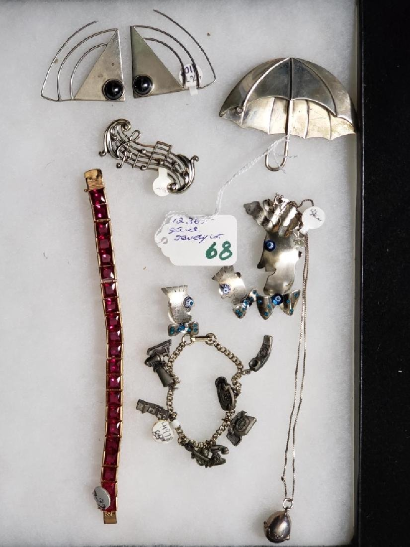 Sterling Silver Jewelry Lot (8 pcs) - 2