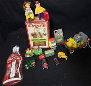Vintage Metal Toy Collection W 1961 Mr Magoo