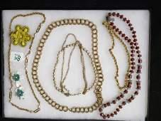 Vintage Costume Jewelry Lot Miriam Haskell