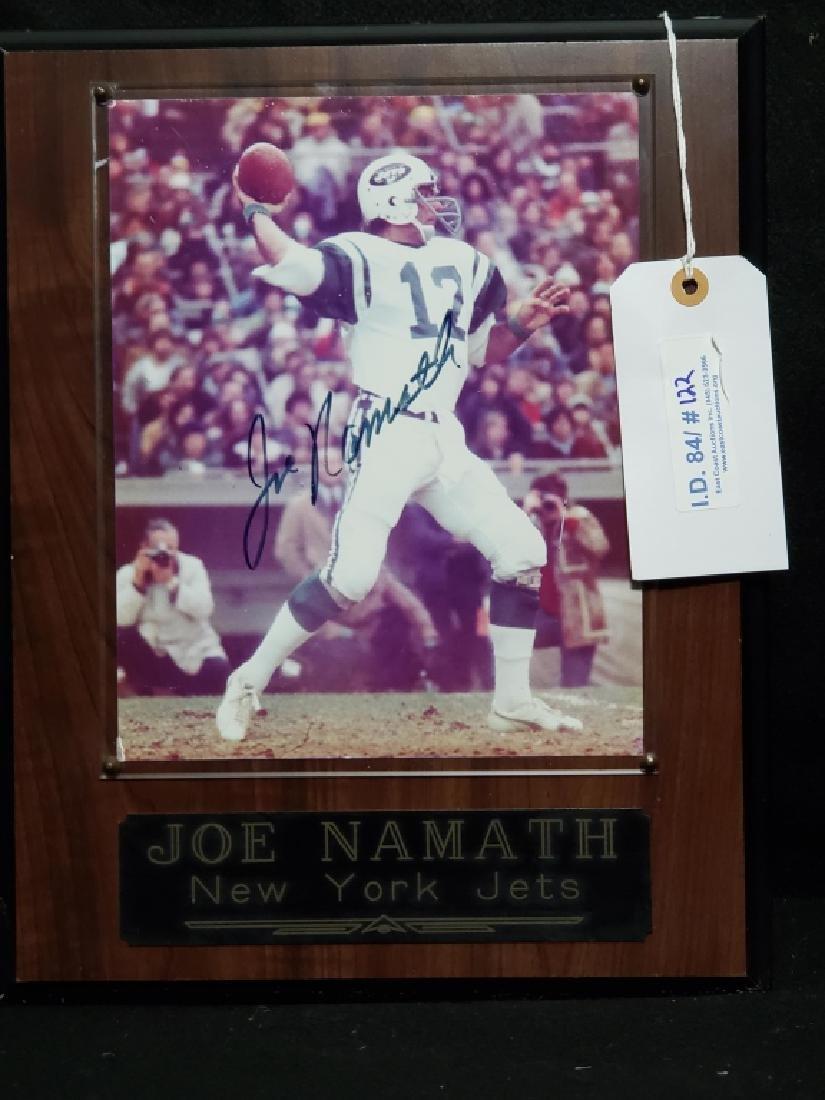 Joe Namath NY Jets Quaterback Autographed Picture