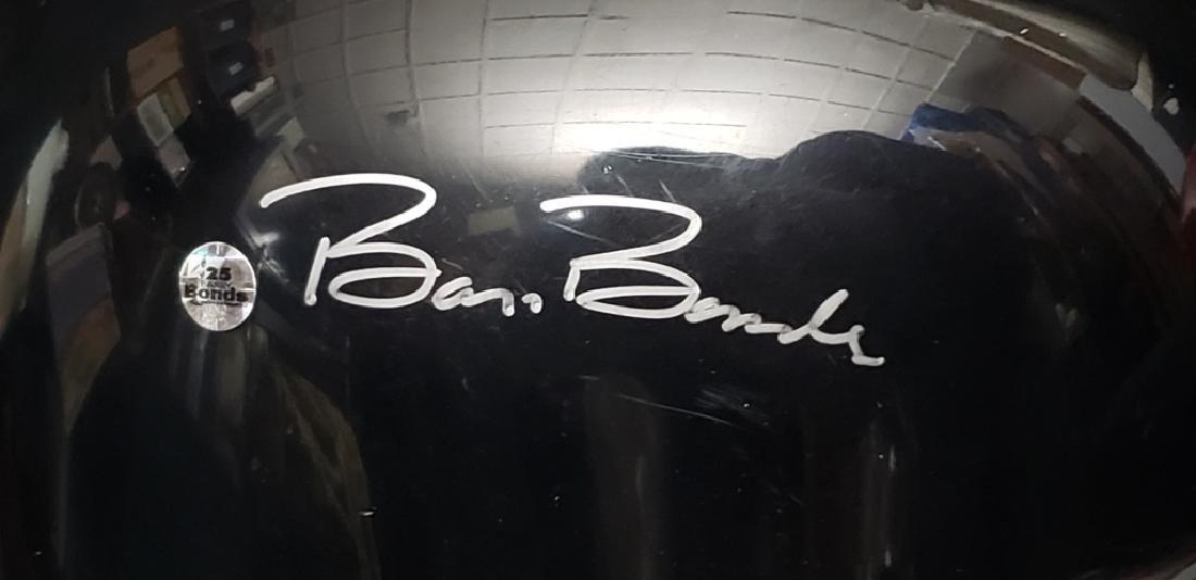 Barry Bonds Autographed Full Size SF Giants Helmet - 3