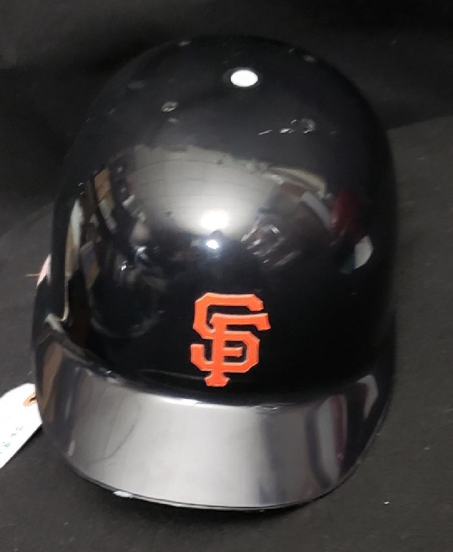 Barry Bonds Autographed Full Size SF Giants Helmet - 4