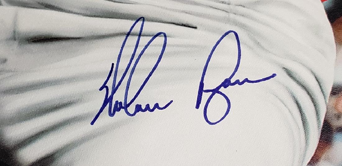 Nolan Ryan Limited Edition Signed HOF 7 No Hitters - 3