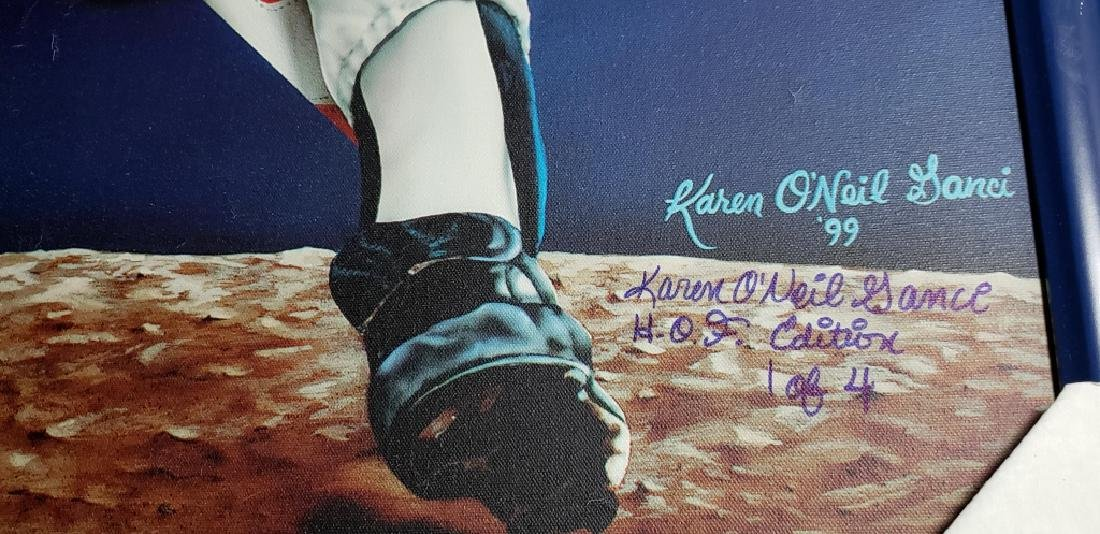 Nolan Ryan Limited Edition Signed HOF 7 No Hitters - 4
