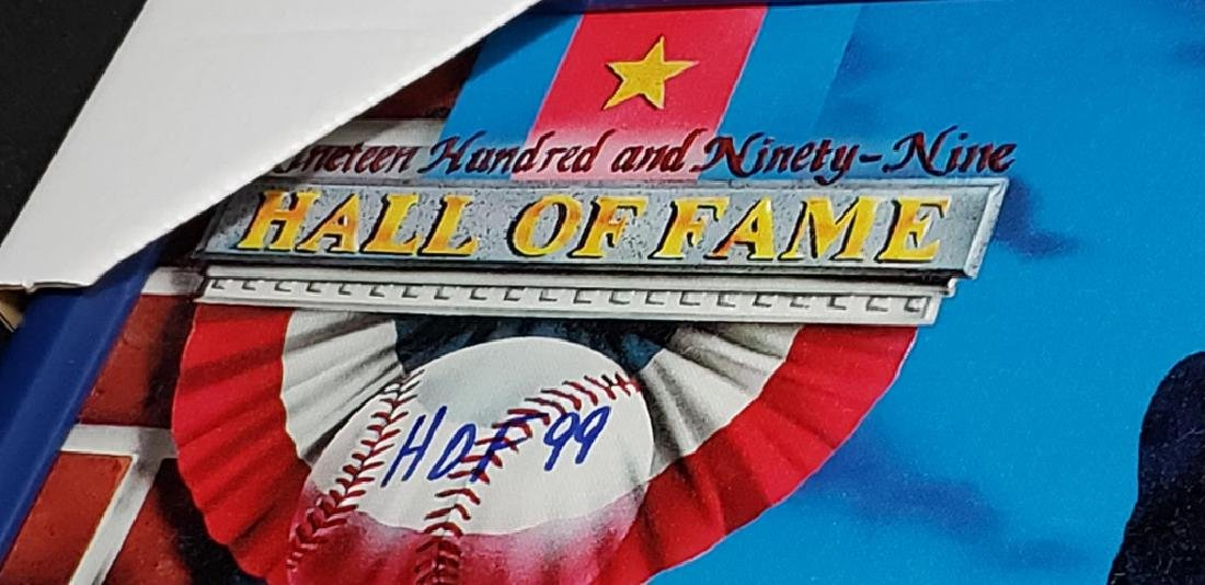 Nolan Ryan Limited Edition Signed HOF 7 No Hitters - 6
