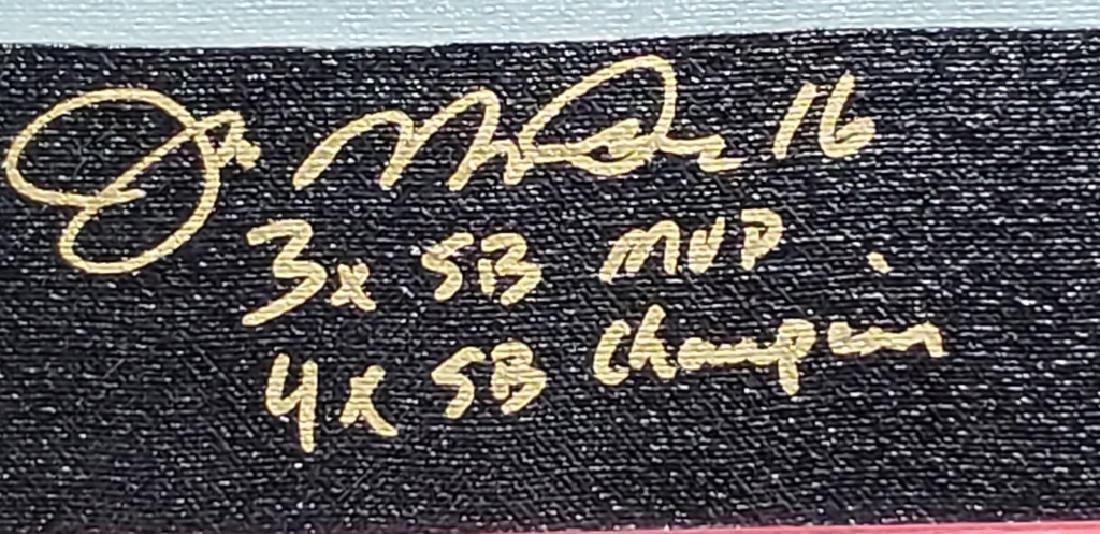Joe Montana Limited Edition Autographed & Cert - 3