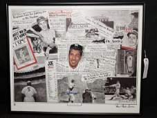 "The ""Joe DiMaggio Legacy"" Autographed AP by Simon"