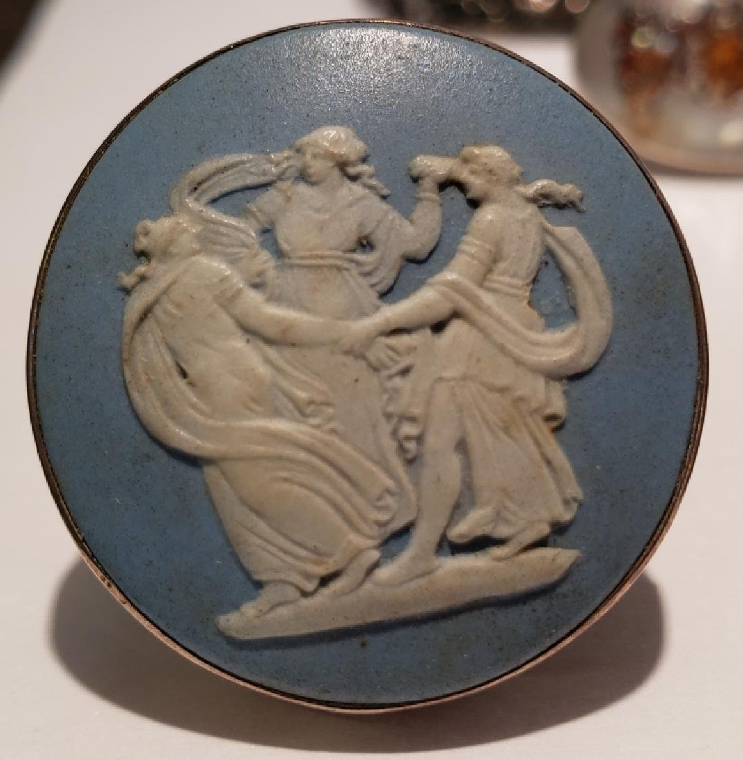 Large & Heavy Racing Horses Sterling Silver Pin - 3
