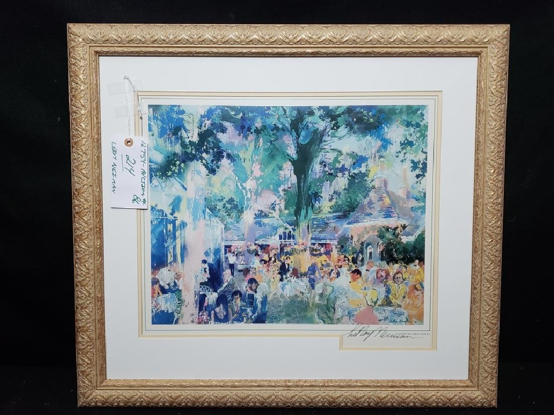 LeRoy Neiman Tavern on the Green Signed Litho