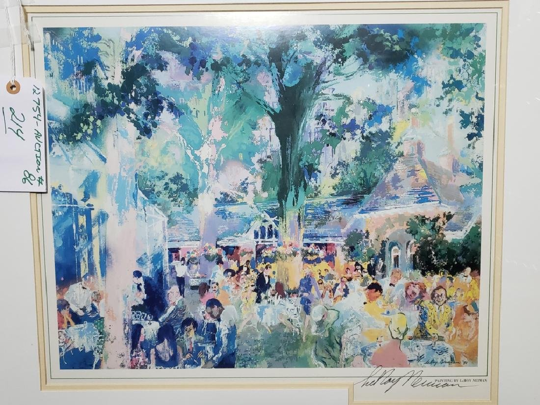 LeRoy Neiman Tavern on the Green Signed Litho - 2