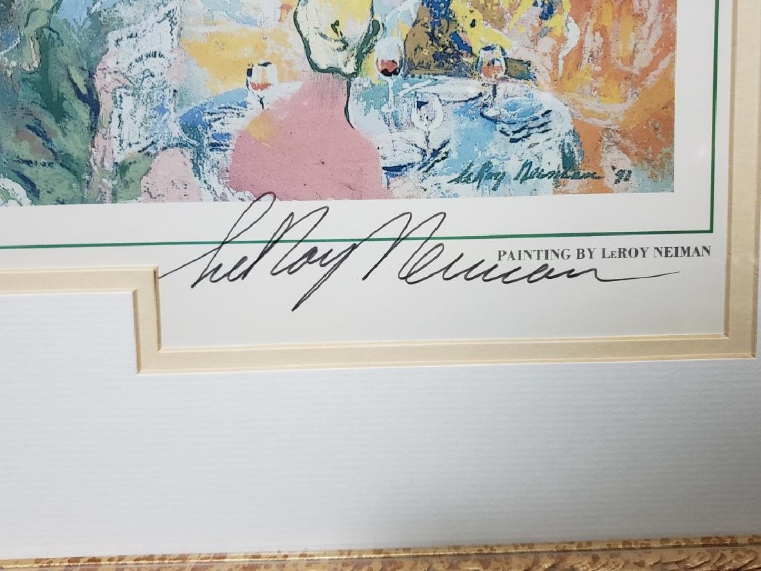 LeRoy Neiman Tavern on the Green Signed Litho - 3