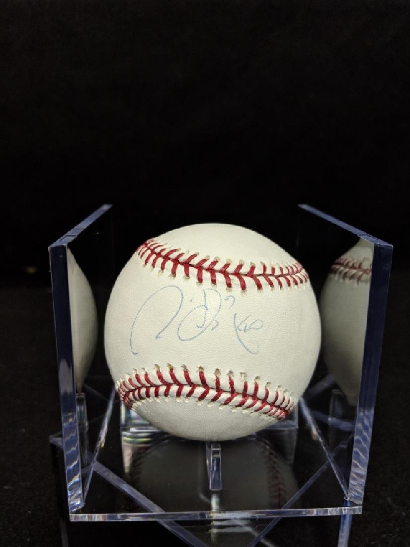 Chien-Ming Weng Autographed Steiner Cert Baseball