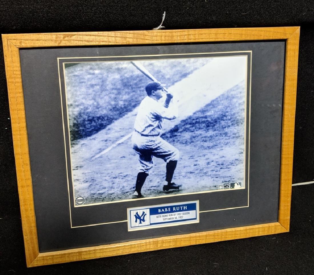 Babe Ruth Steiner Certified 60th HR Photo