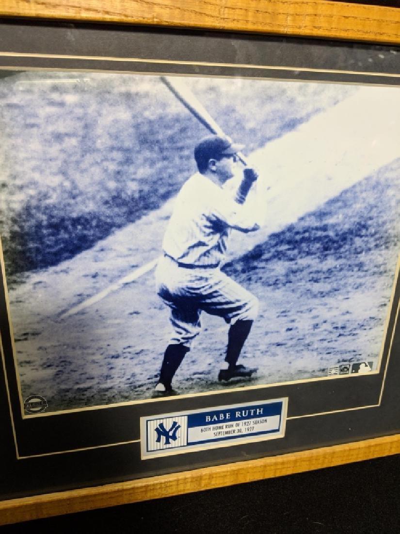 Babe Ruth Steiner Certified 60th HR Photo - 2
