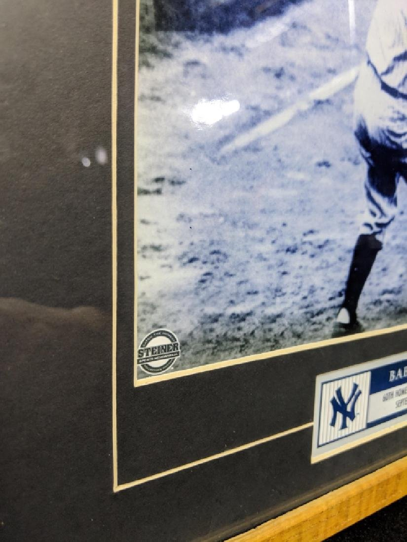 Babe Ruth Steiner Certified 60th HR Photo - 3