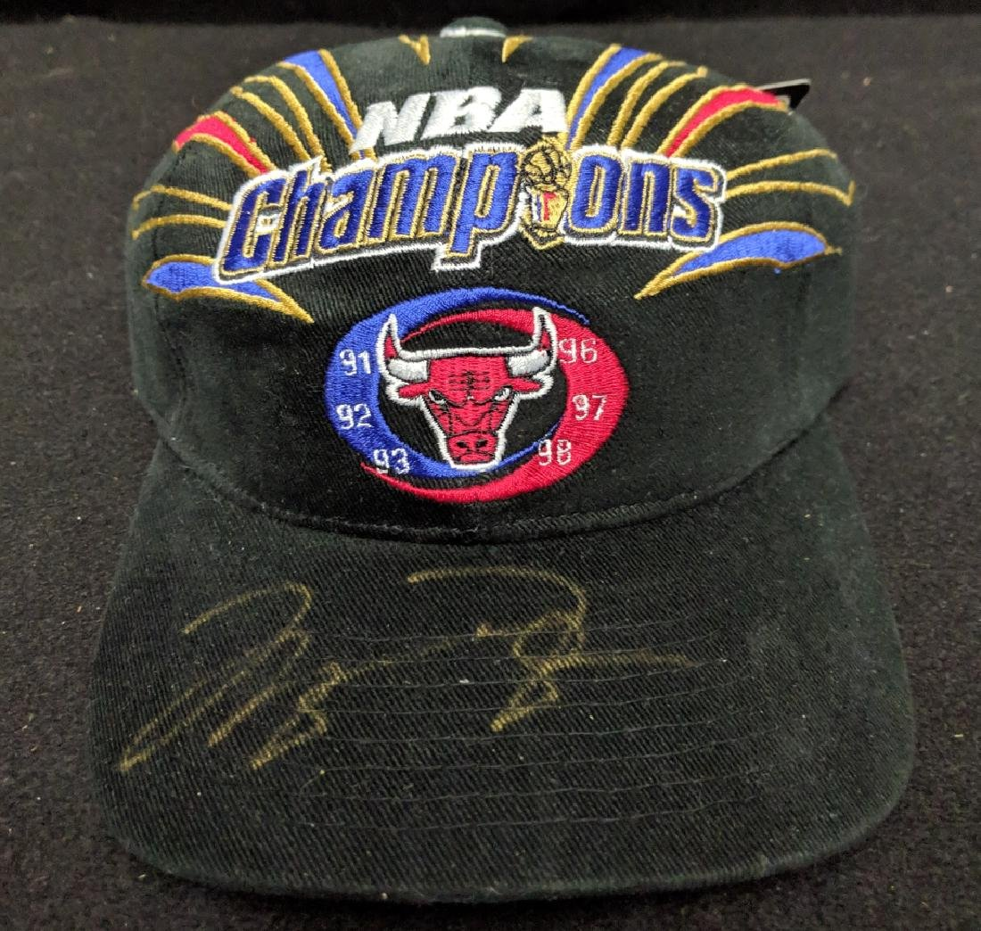 7200a661eb3 Michael Jordan Chicago Bulls NBA Champions Signed - Feb 24, 2019 | East  Coast Auctions in NY