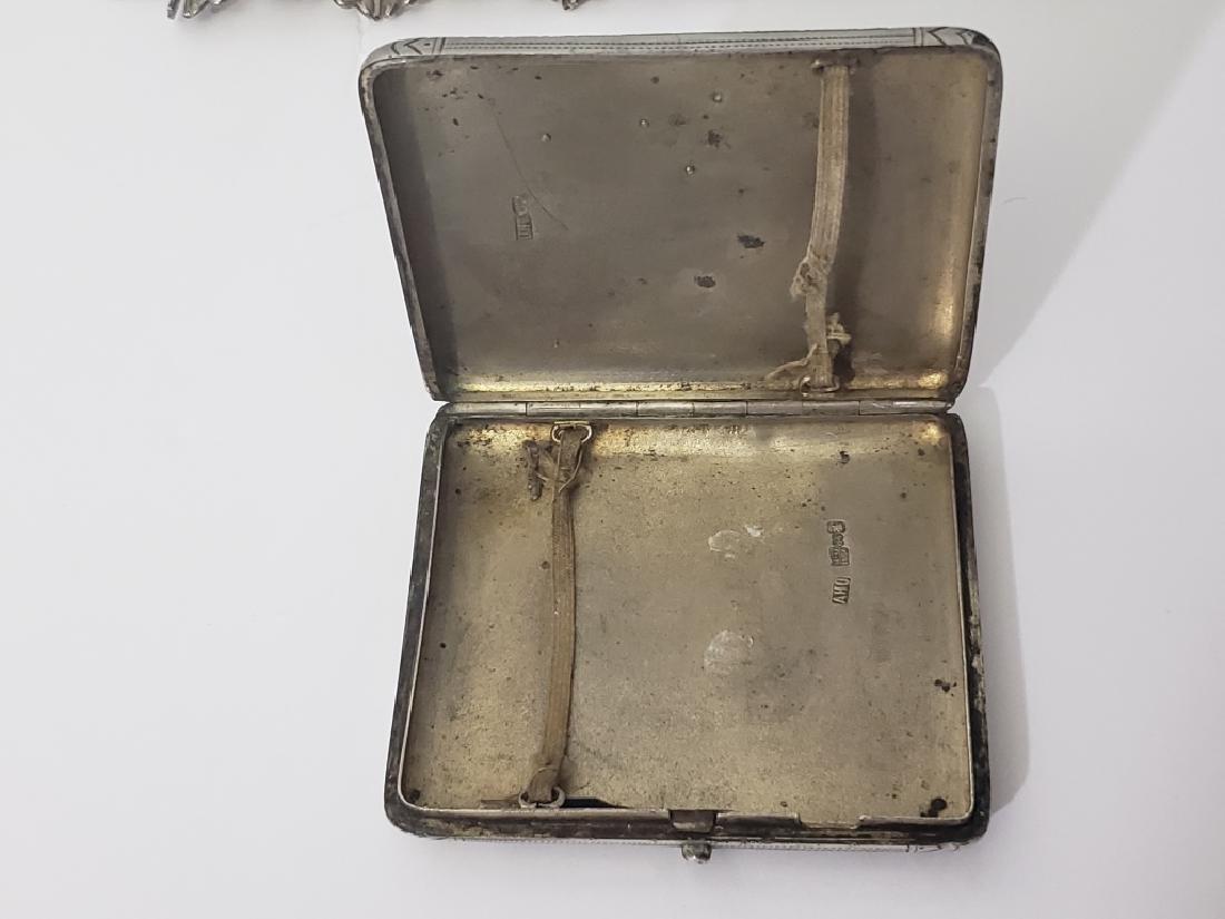 Russian Sterling Silver Cigarette Case Envelope - 3