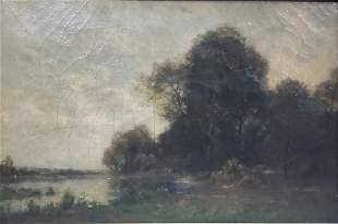 Richard PAULI (1855-1892) Oil On Canvas