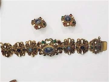Magnificent Hobe Bracelet & Earrings Set