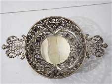 Excellent Quality Antique English Silver Basket
