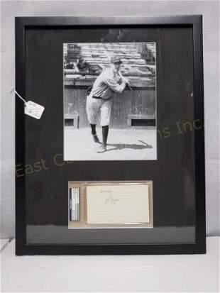NY Yankees Joe Dugan (1922-1928) PSA Autograph