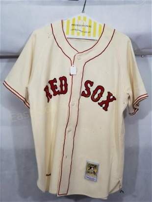 Boston Red Sox Ted Williams Mitchell & Ness Jersey