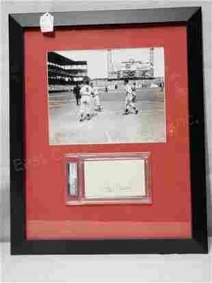 St. Louis Cardinals Stan Musial PSA Sig. & Photo