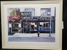 Ken Keeley Pencil Signed Artist Proof Paddys
