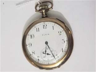 Elgin Pocket Watch With Judaica Interest