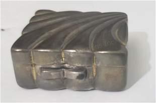 Sterling Silver Pillbox