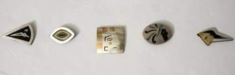 Mixed Metals Pin Grouping 5 Mexico