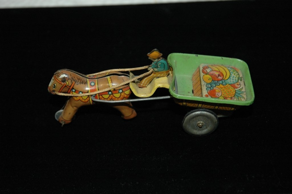 Vintage 1950's tin friction toy by ALPS