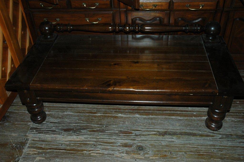 Vintage Solid wood coffee table