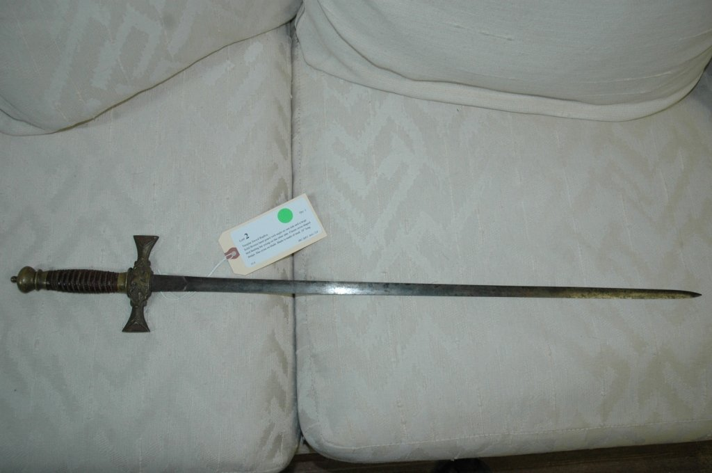 Templar Sword Replica.