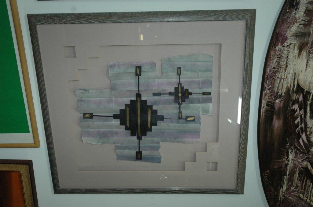 Locust MIlls abstract art