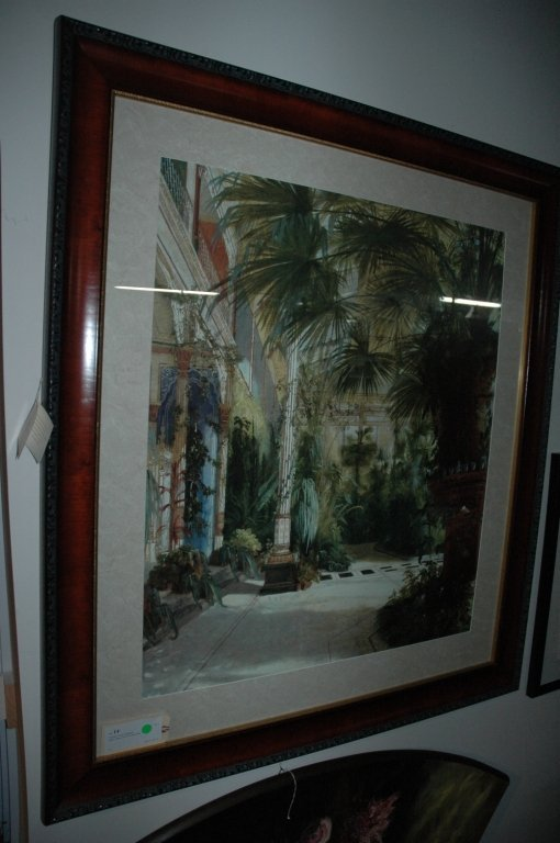 """""""The Palm House"""" Lithograph"""