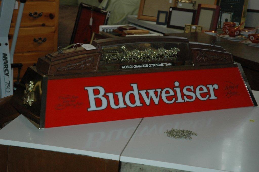Rare Vintage Budweiser Pool light