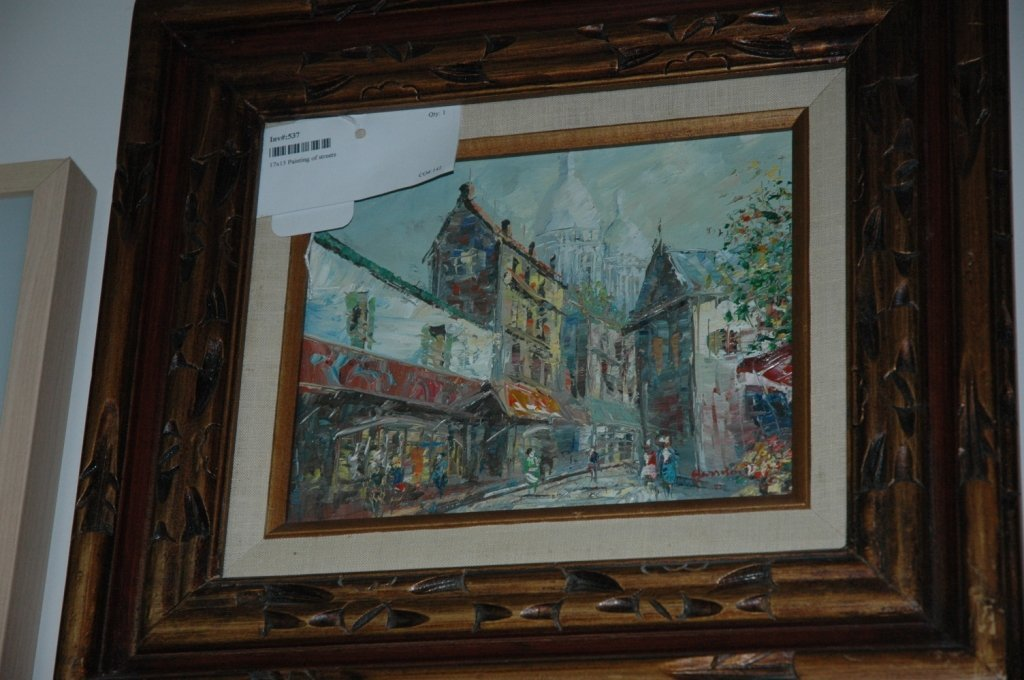 17x15 Painting of streets
