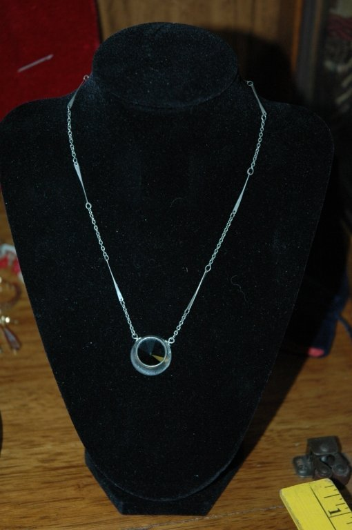 Sarah Coventry Silver Charm and Chain.