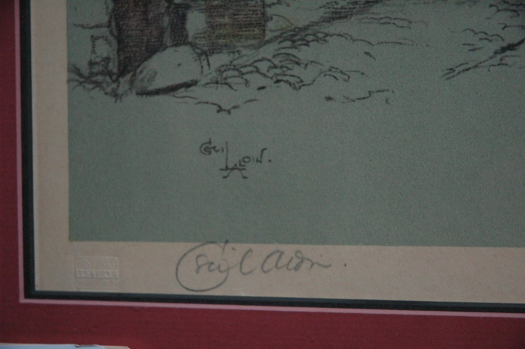 Pair of Signed Laloin Prints  by Cecil Aldin - 5