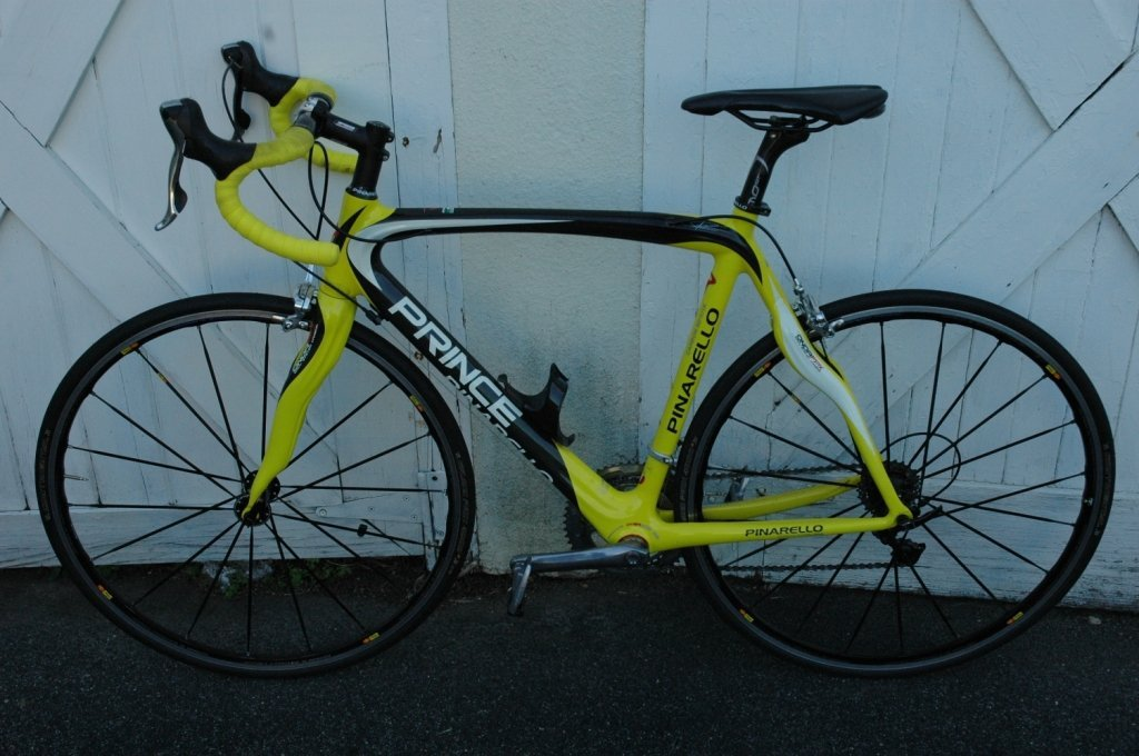 PINARELLO Prince Frame (900 grams)  Complete bike 56cm