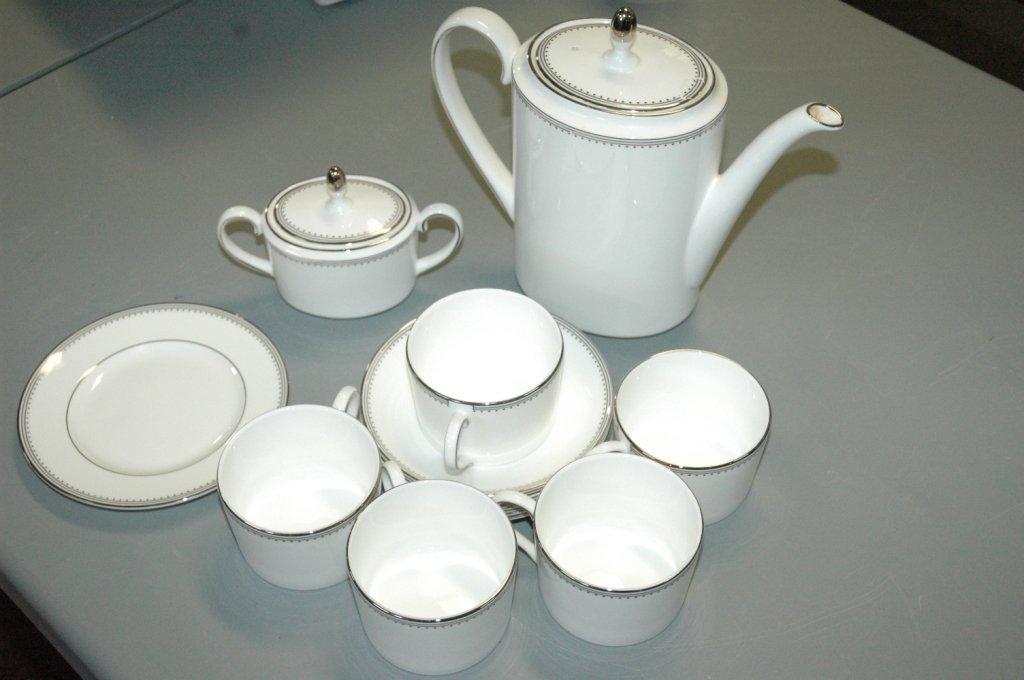 service of 5 Vera Wang tea/ coffee set