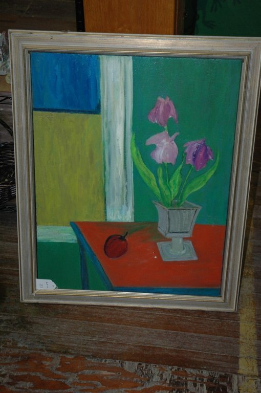 2 Still Life Pictures Signed