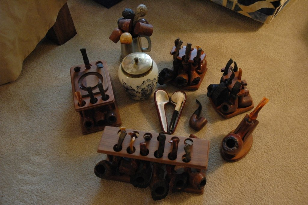 41 piece pipe collection