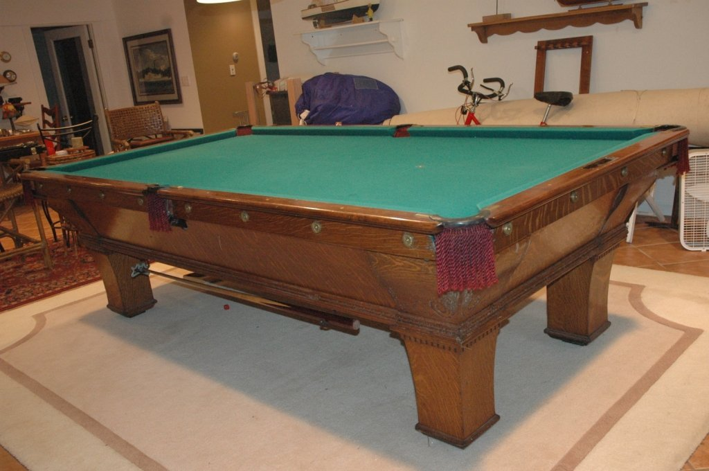 Brunswick Balke Collender Pool Table with.....